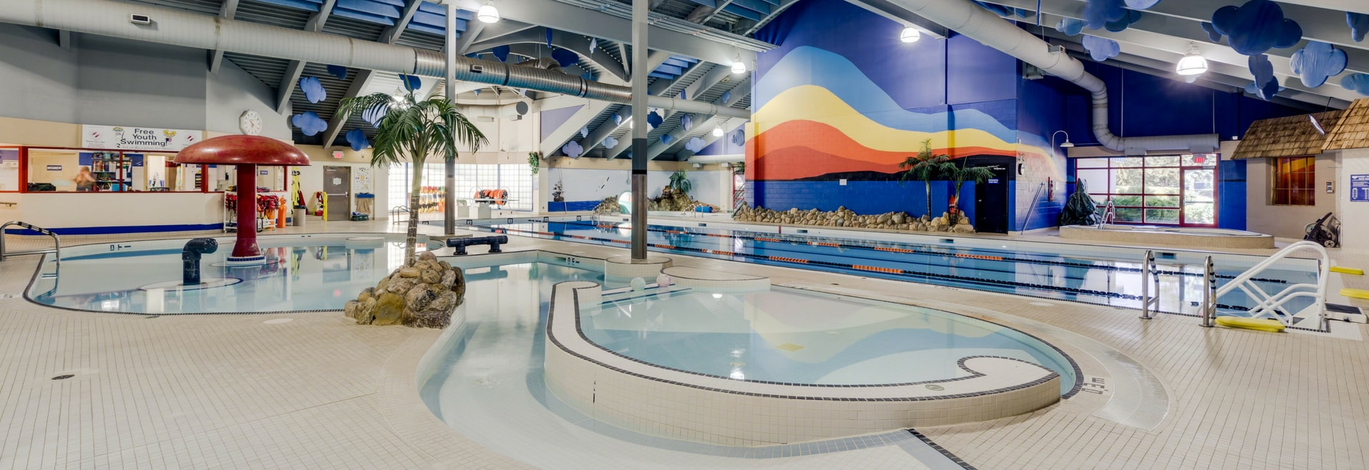 Aquafun Centre Inside