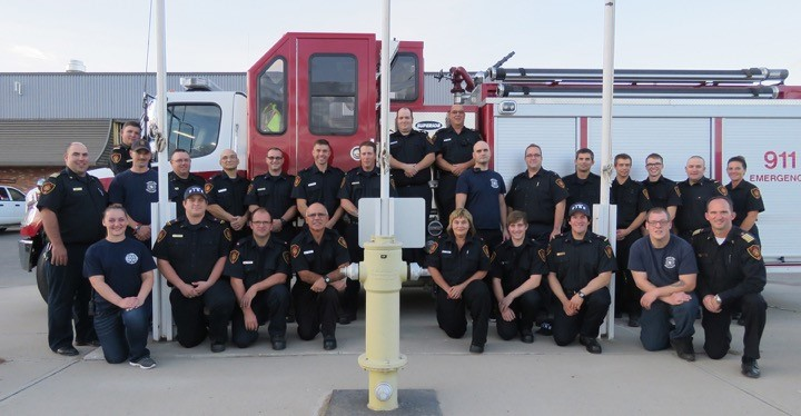 Taber Fire Department 2017 Group Picture