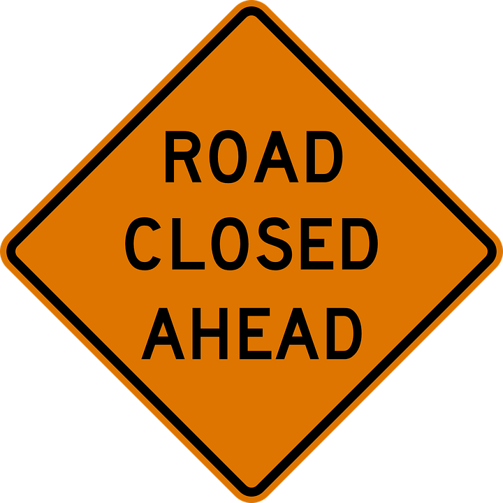 Notice of Road Closures and Construction