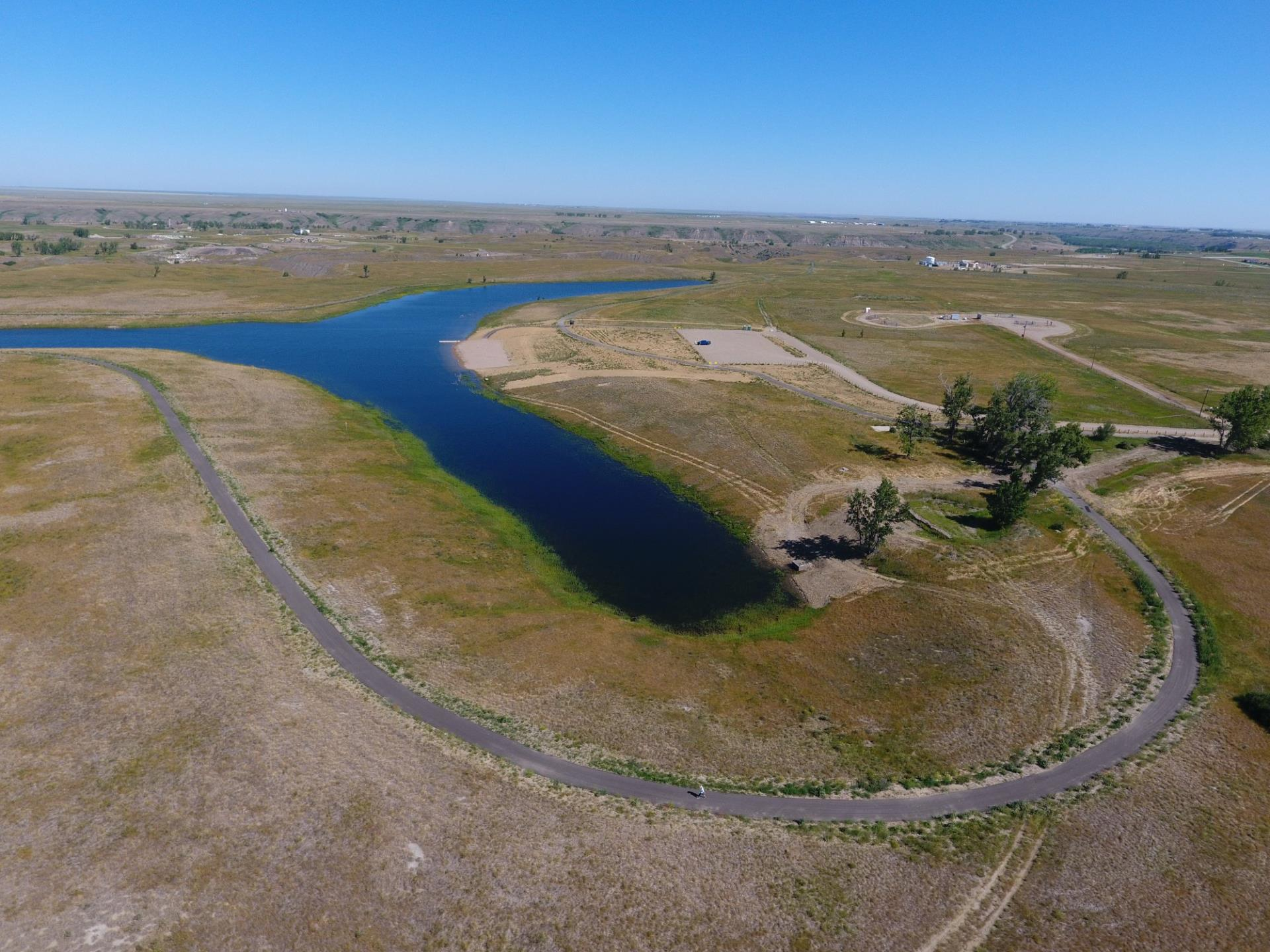 Trout Pond Aerial View 2018