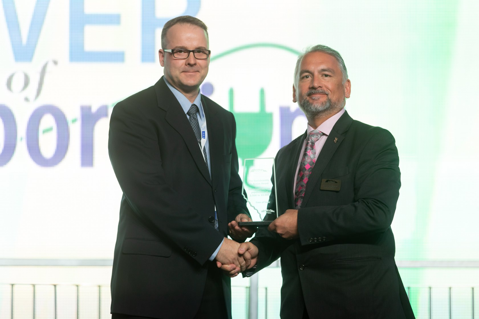 Taber wins Alberta Urban Municipalities Association Sustainability in Action Award
