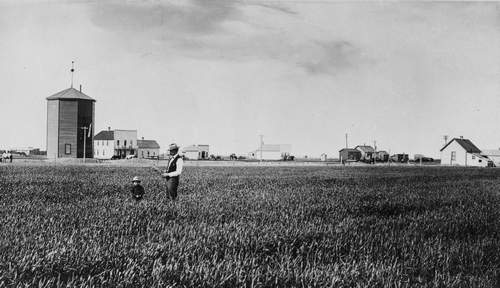 Taber View of Main Street c 1905