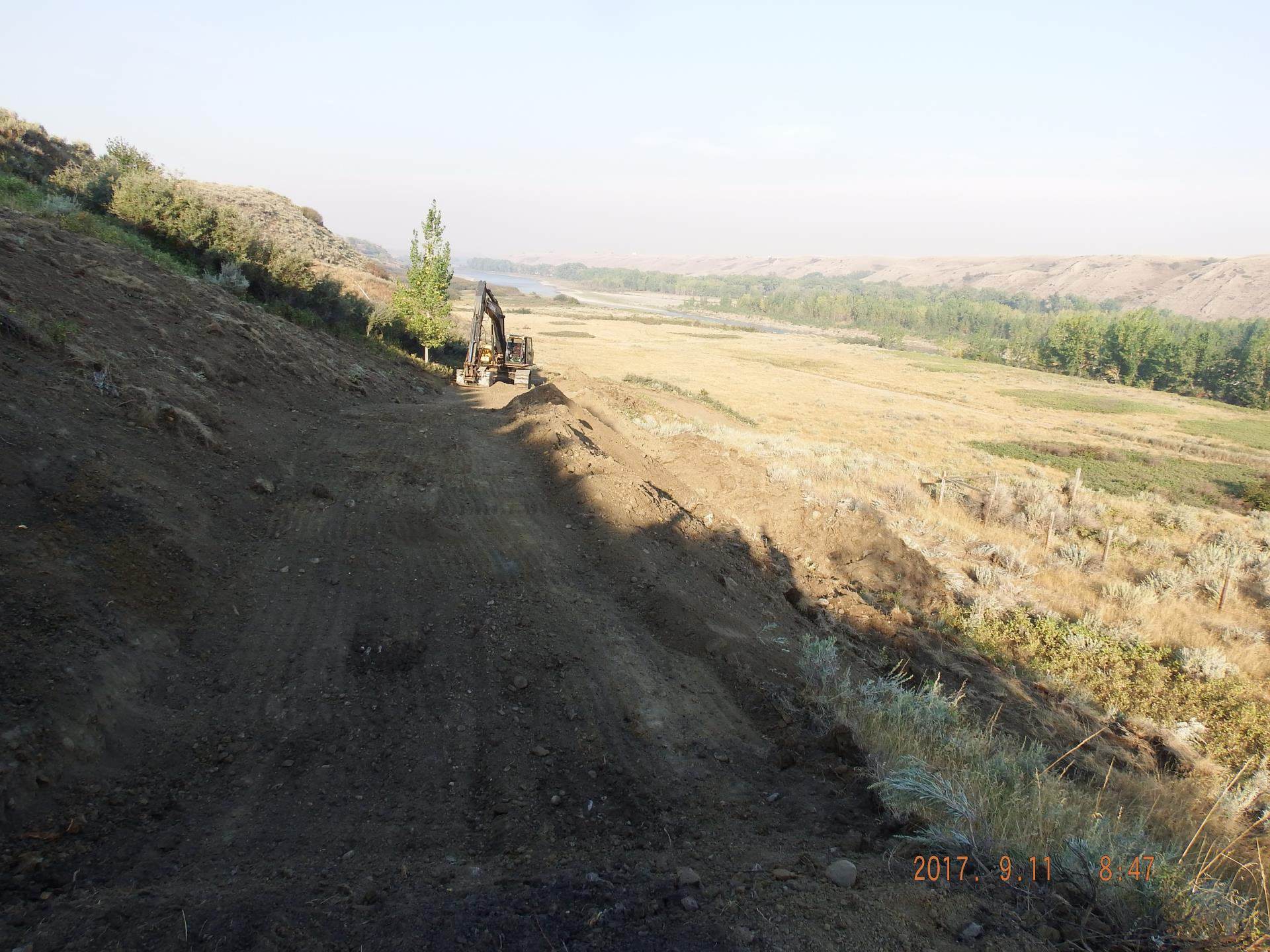 Trail Construction - September 2017