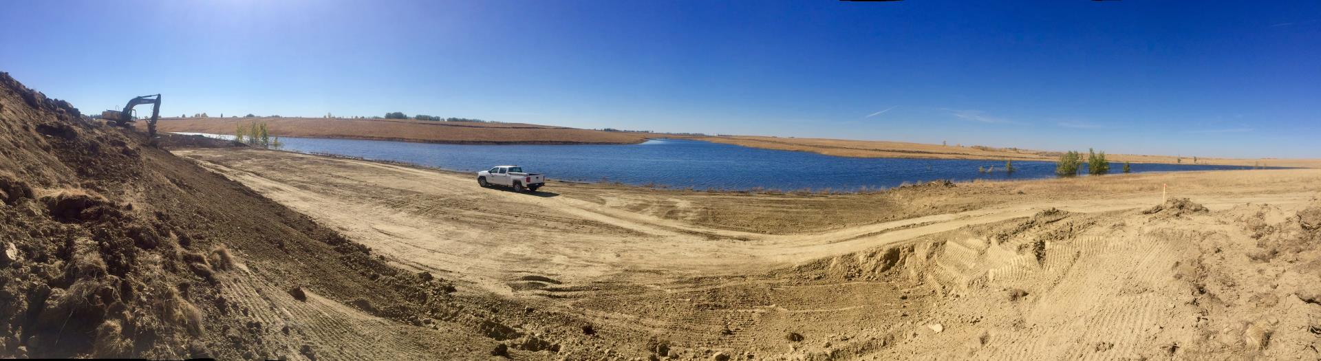Trout Pond Panoramic - September 2017