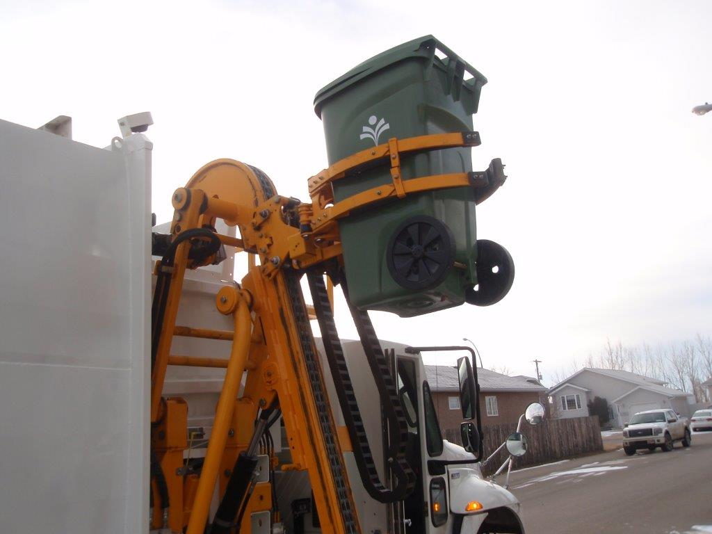 Our new equipment will make waste collection more efficient!