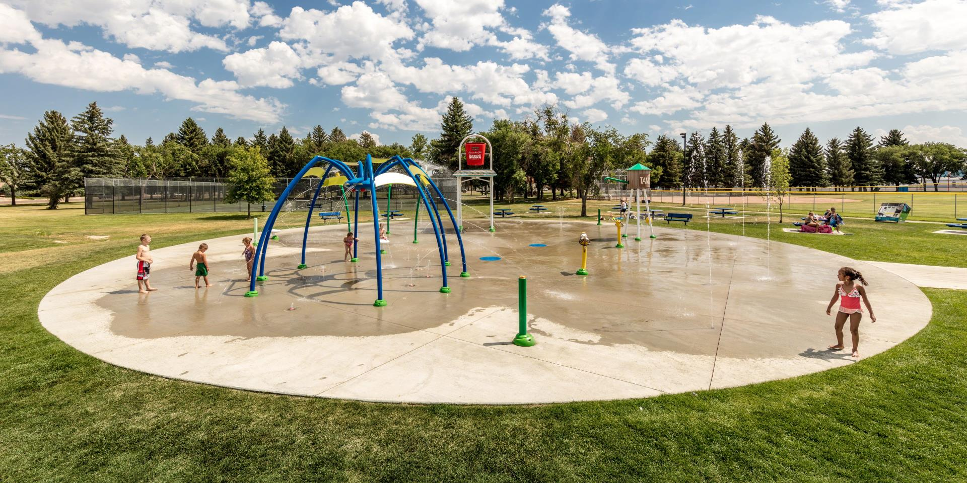 Town of Taber Spray Park 2017