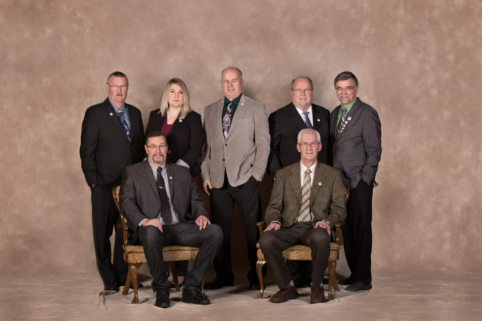 Mayor and Councillors of the Town of Taber 2018