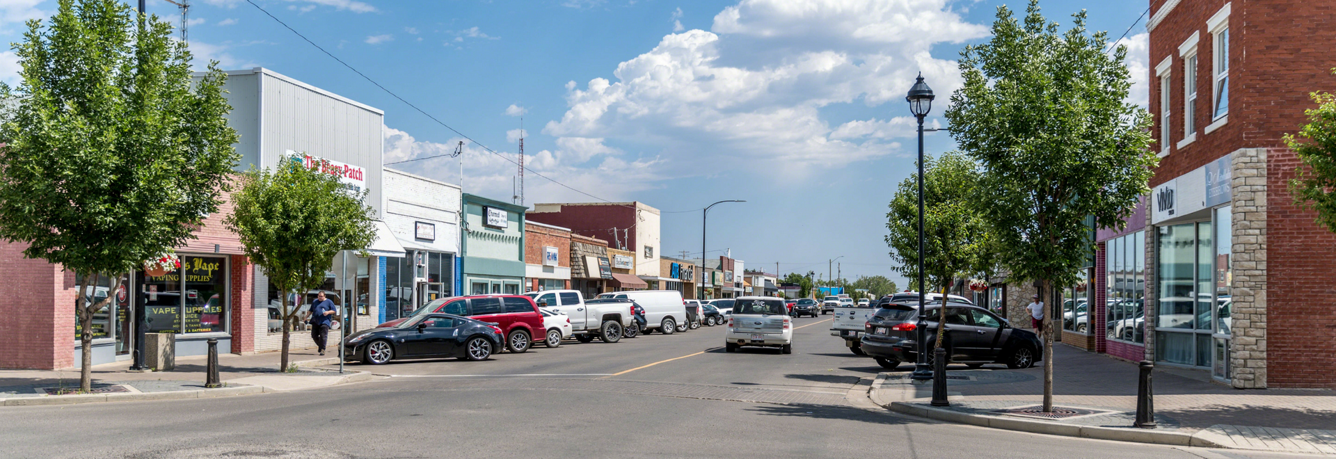 Downtown Taber Wide