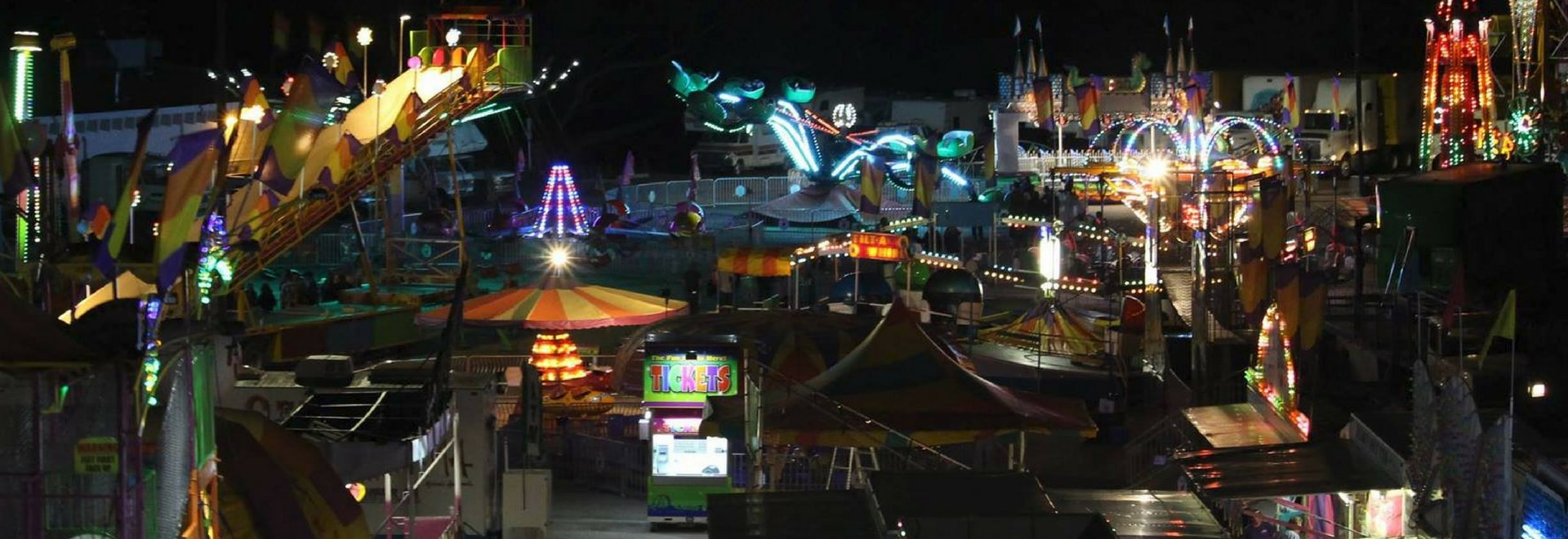 corniest midway at night