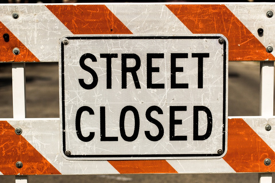 Notice of Partial Road Closure: 56th Avenue