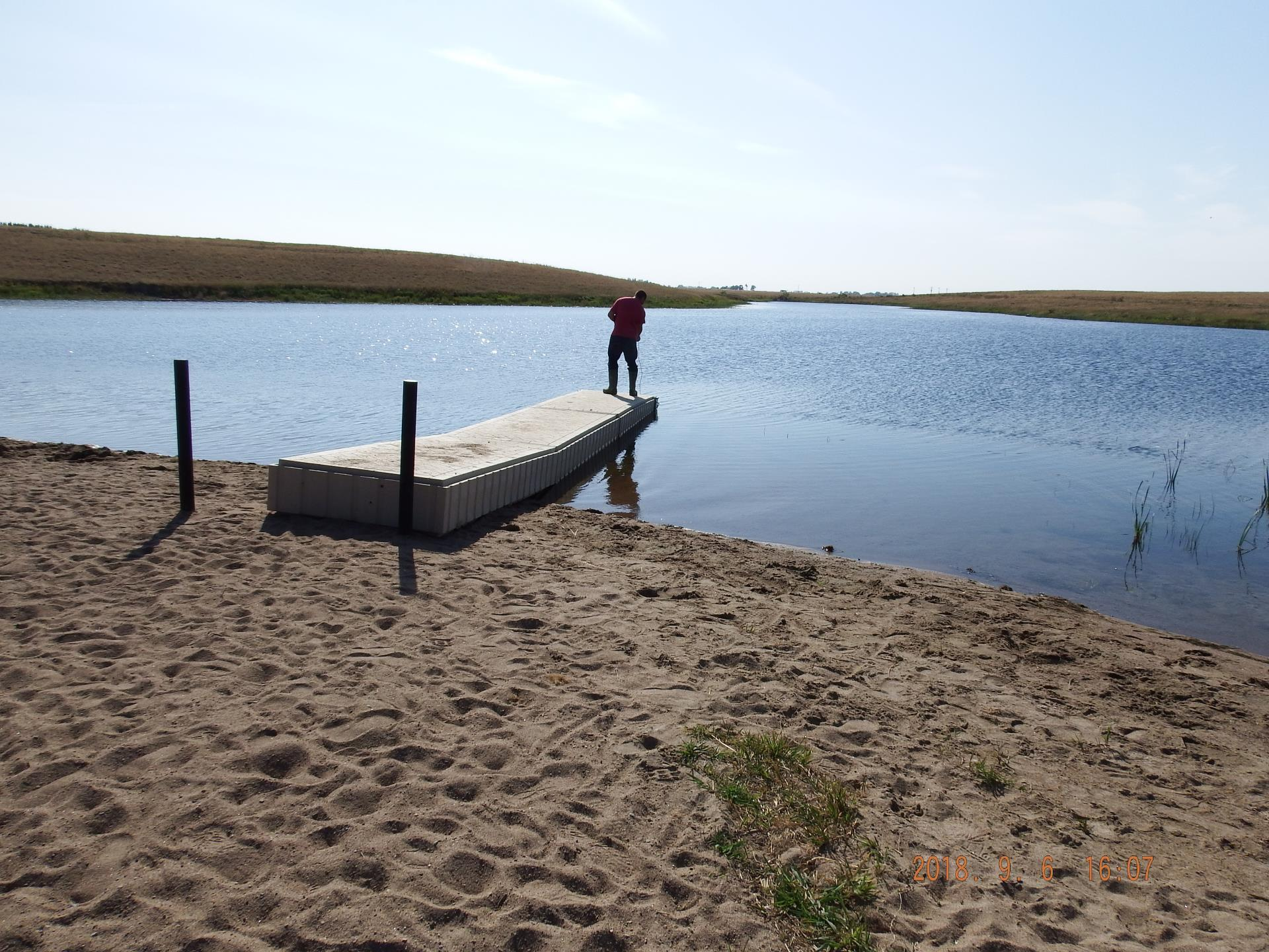 September 2018 Fish Deposit- Dock Check