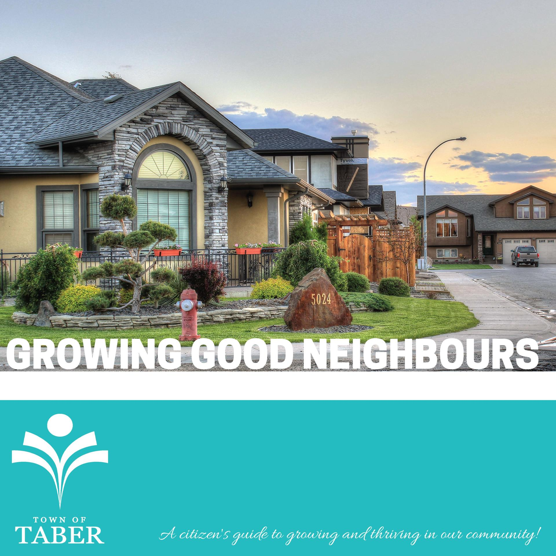 Growing Good Neighbours Cover Page