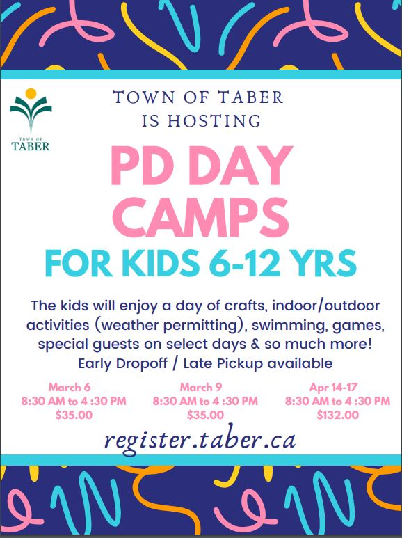 PD Day Camps March 2020