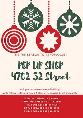 Pop Up Shop Poster