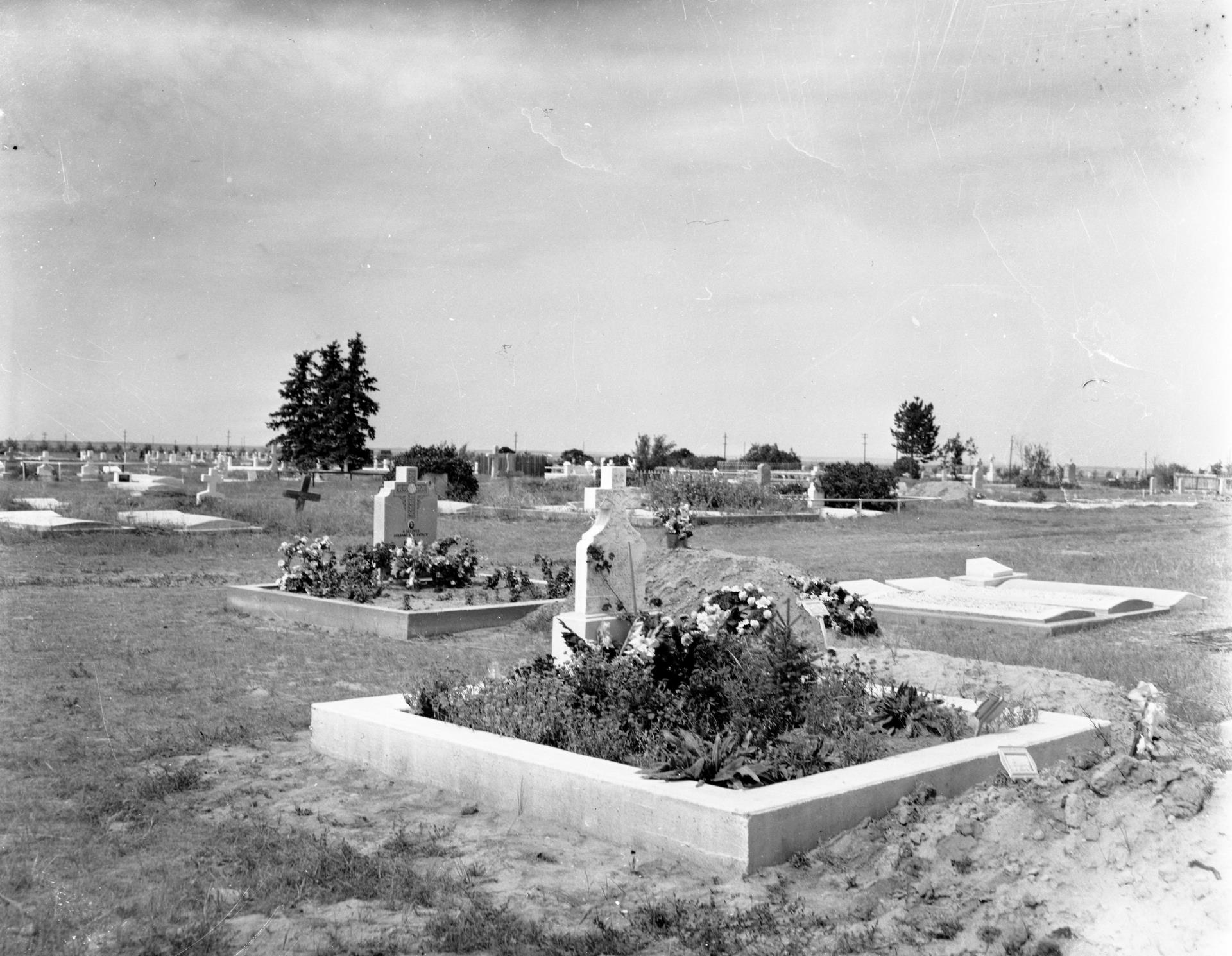 Taber Memorial Gardens Historic Photo courtesy of the Taber Irrigation Impact Museum