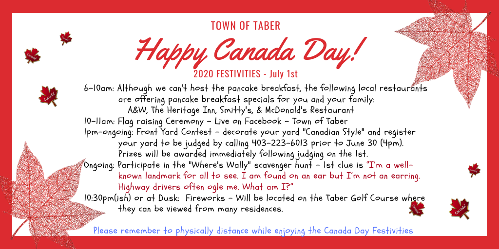 Canada Day Poster 2020