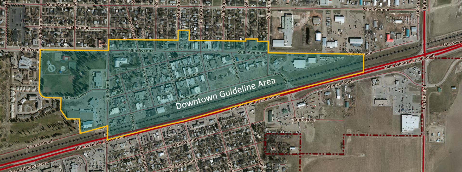 Downtown Guideline Area